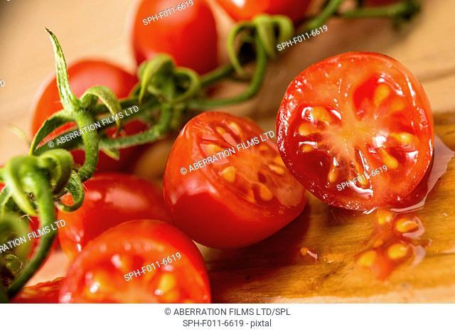Datterino tomatoes, still life