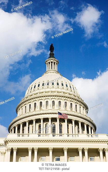 Dome on Capitol Building Washington DC USA