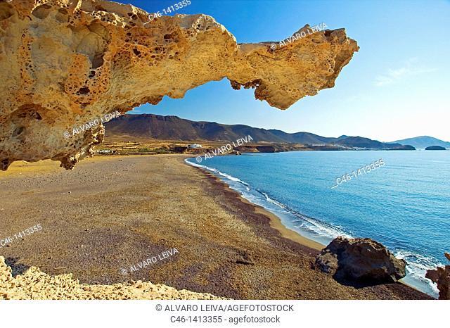 Playa del Arco, Los Escullos  Natural Reserve of Cabo de Gata-Níjar  Almería province  Andalusia  Spain
