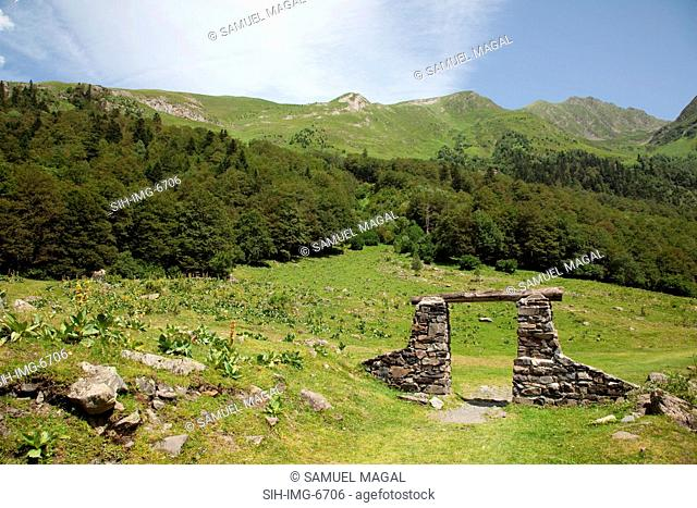 Europe, Spain, Pyrenees Mountains and Nature