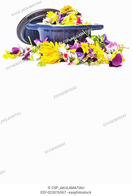 Mix Edible Flower Salad