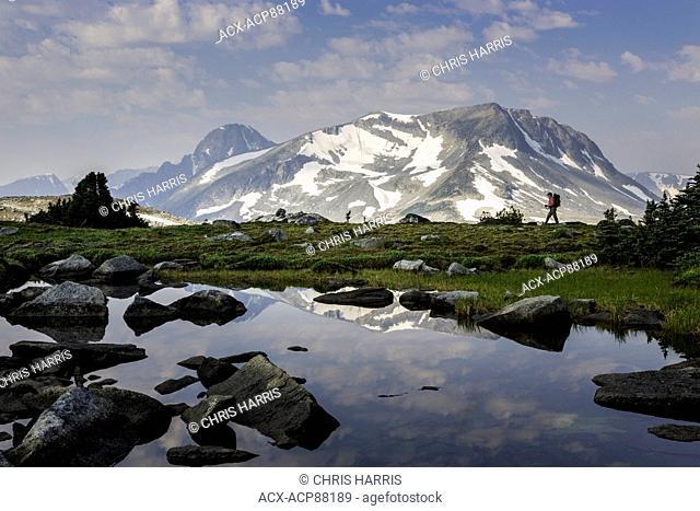 British Columbia, Canada, Charlotte Alplands, Chilcotin region, Chilcotin Ark, hiking, alpine, alpine lake