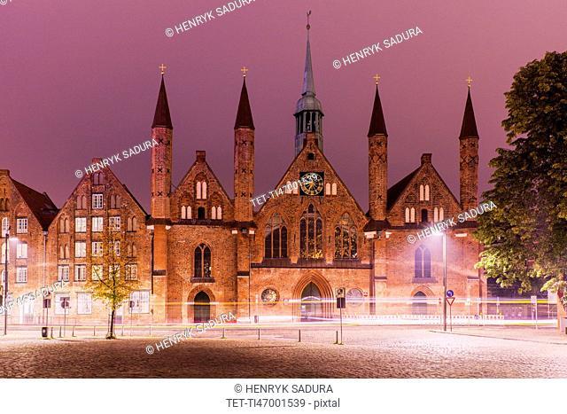 Heiligen-Geist-Hospital in Lubeck Lubeck, Schleswig-Holstein, Germany