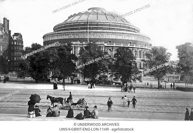 London, England: c.1885.Albert Hall in Westminster