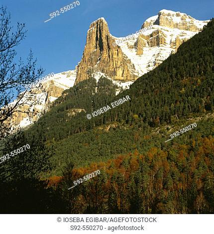 Ordesa National Park. Pyrenees Mountains, Spain