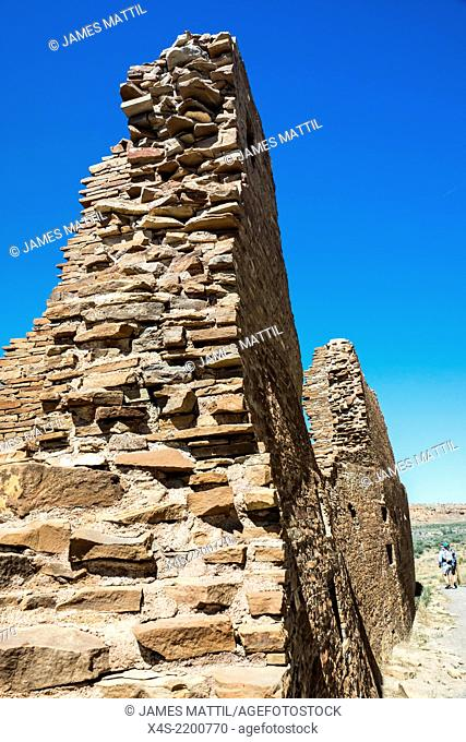 Remains of the ruins at Chaco Canyon date back to CE1100