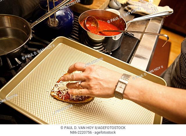 chicken parmesan preparation