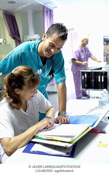 Emergency room. Hospital Universitario Gran Canaria Doctor Negrin, Las Palmas de Gran Canaria. Canary Islands, Spain