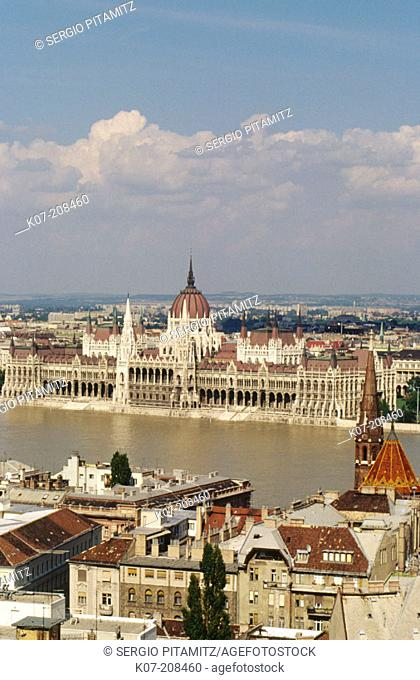 Budapest (view from Buda Castle). Hungary
