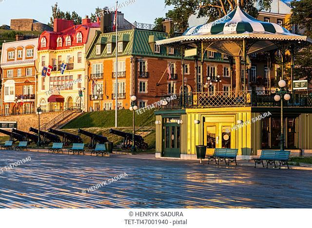 Canada, Quebec, Quebec City, Old architecture