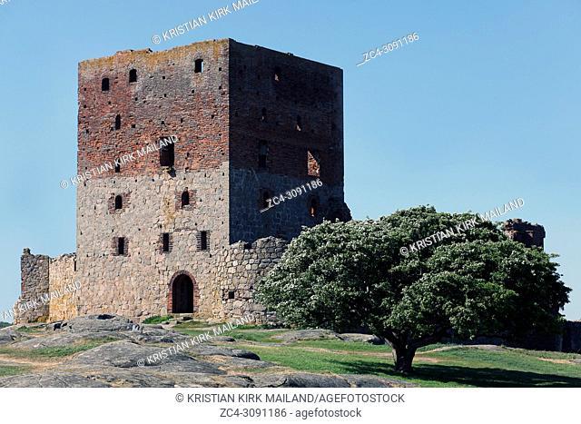 The Mantel tower at Hammershus