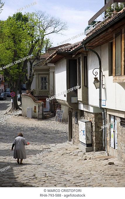 Old Town, Plovdiv, Bulgaria, Europe