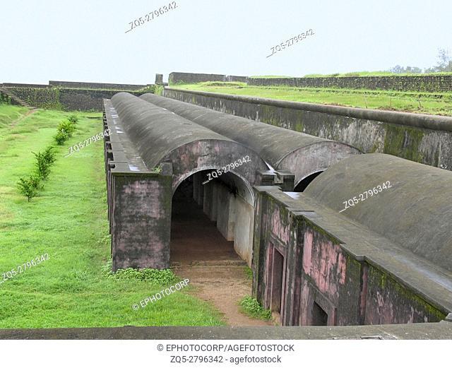 St. Angelo Fort, Kannur, Kerala, India