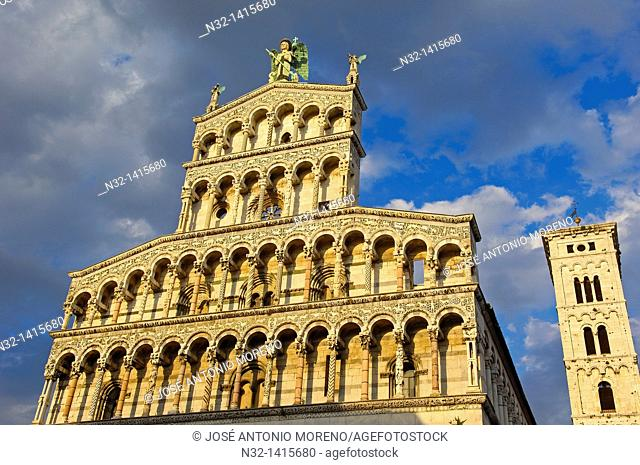 Lucca  San Michele in Foro church, Tuscany  Italy  Europe