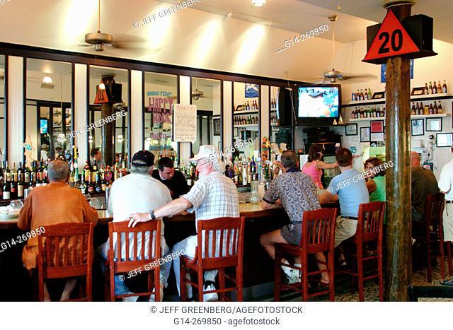 Marker 20 Restaurant. East Queens Way. Hampton. Virginia. USA