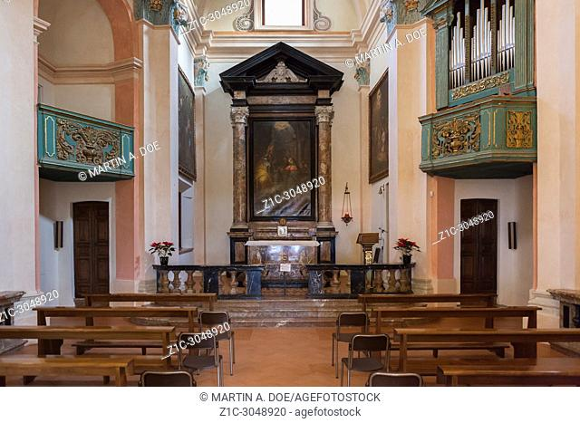 Oratorio dei Santi Giuseppe e Dionigi (Saints Joseph and Dyonisus Oratory). Luino, Italy