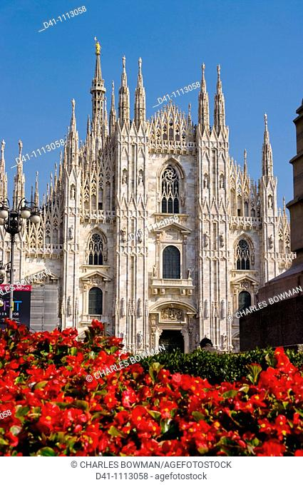 Europe, Italy, Lombardy, milan cathedral
