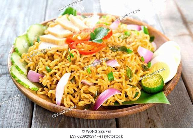 Malaysian cuisine maggi goreng mamak