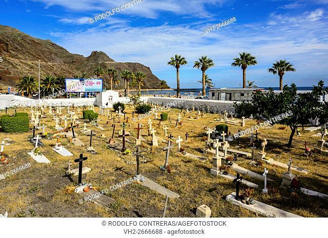 Las Teresitas cemetery, Canary Islands