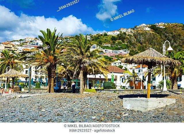 Beach. Santa Cruz. Madeira, Portugal, Europe