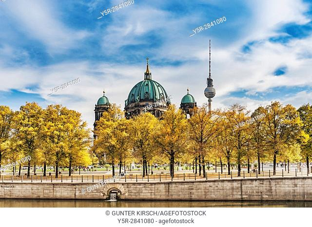The Berlin Cathedral is an evangelical church in the Mitte district of Berlin. It is the largest church in Berlin. The cathedral was built between 1894 and 1905...