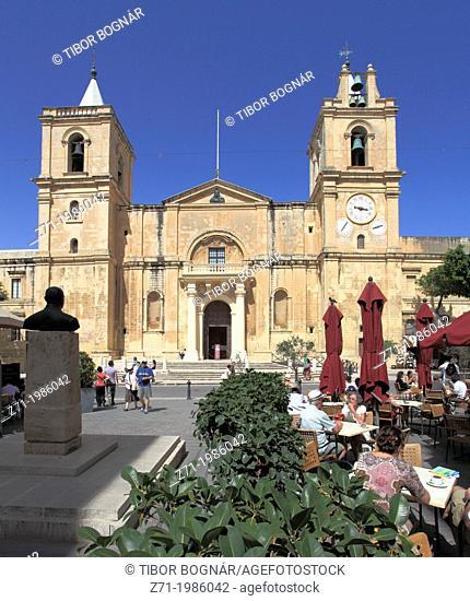 Malta, Valletta, St John's Co-Cathedral,