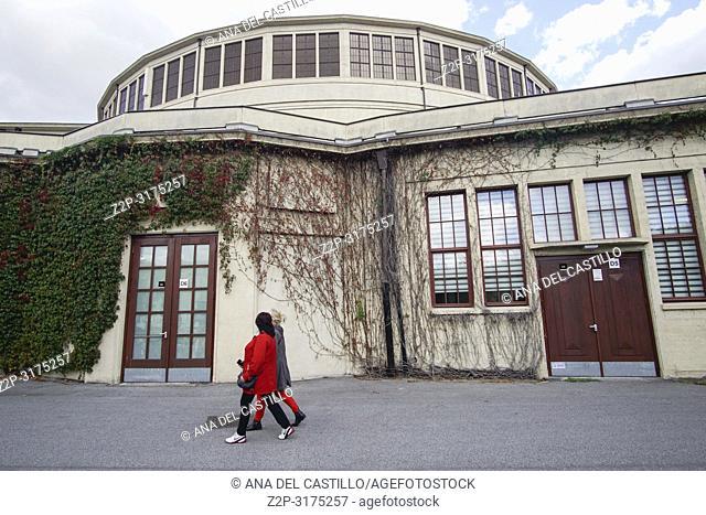 Centennial Hall, Hala Stulecia, Wroclaw, Poland. A UNESCO World Heritage Site