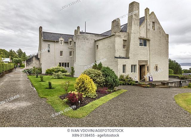Hill house (1904), Helensburgh, Dunbartonshire, Scotland, UK