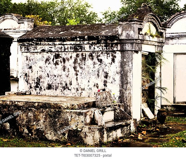 Tomb in old cemetery