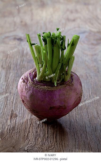 Turnip On Wood