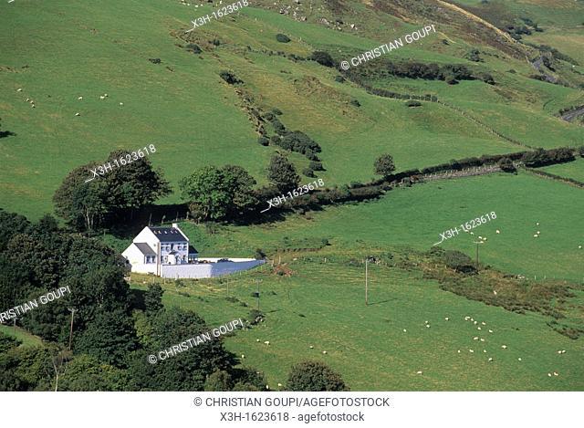 coast of Antrim, around Cushendun, Northern Ireland, United Kingdom, Western Europe