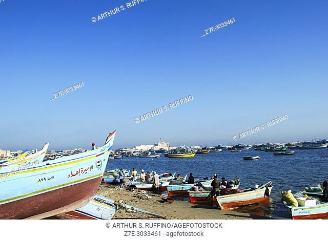 Eastern Harbor, Alexandria, Egypt
