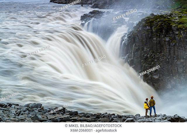 Dettifoss waterfall. Jokulsargljufur National Park. Iceland, Europe