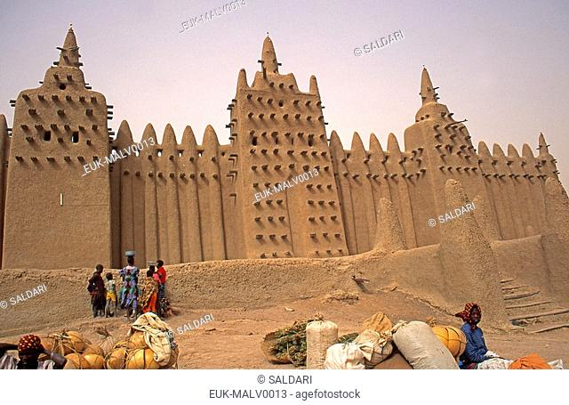 Great Mosque of Djenné,Mali