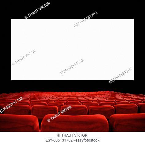 big cinema screen