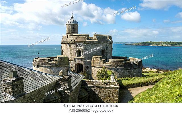 St. Mawes Castle, Cornwall, England, United Kingdom