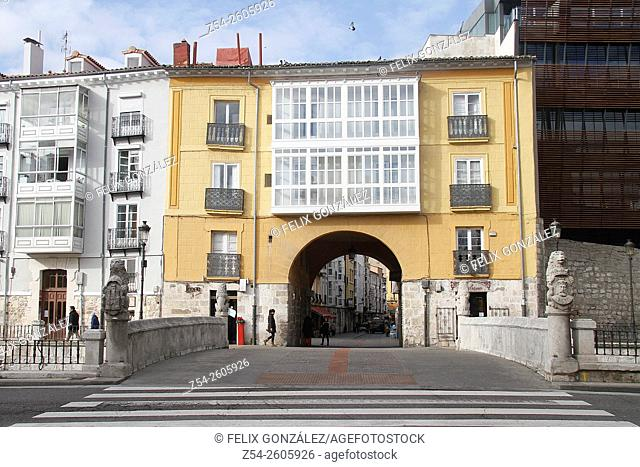 Arch of San Juan Burgos, Castile and Leon, Spain