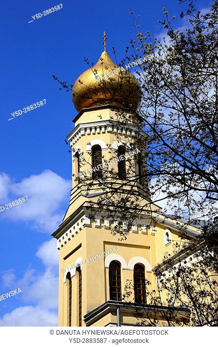 St. Olga orthodox church together with Cathedral of St. Alexander Nevsky belongs to orthodox parish in Lodz, St. Olga church is situated at Piramowicza Steet nr...