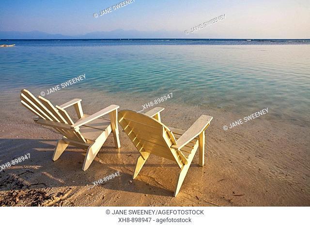 Bando Beach, Utila, Bay Islands, Honduras