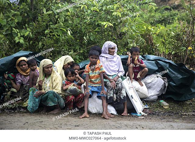 Over the past 10 days, more than 140,000 Rohingya Muslims have fled Burma's Rakhine state for Bangladesh, climbing over hills and boarding boats to safety