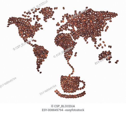 Coffee map
