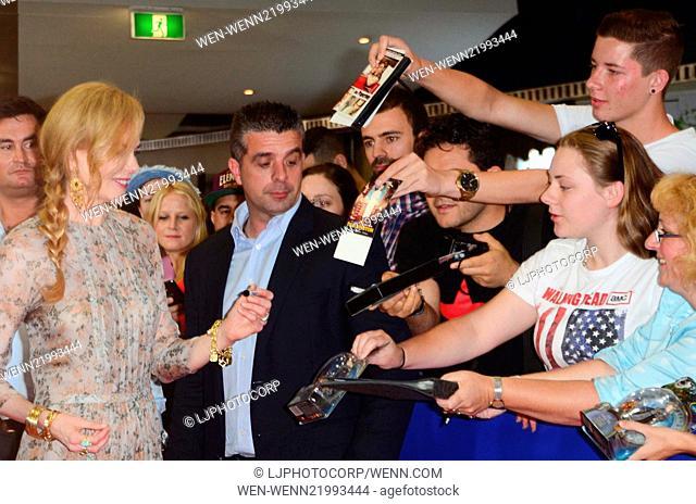 'Paddington' Sydney premiere at Event Cinema - Arrivals Featuring: Nicole Kidman Where: Sydney, Australia When: 06 Dec 2014 Credit: LJPhotoCorp/WENN
