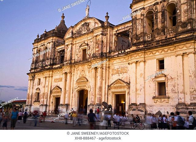 Basilica Cathedral of the Assumption, Leon, Nicaragua