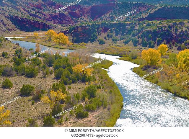 Rio Chama, New Mexico, Autumn