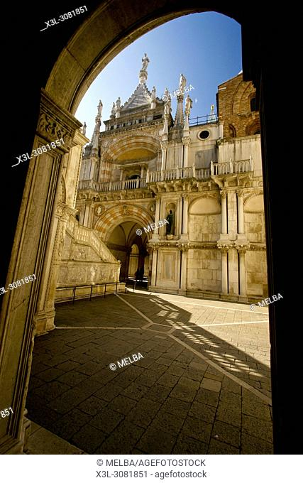 Palazzo Ducale, Piazza San Marco, Venice, Veneto, Italy, Europe