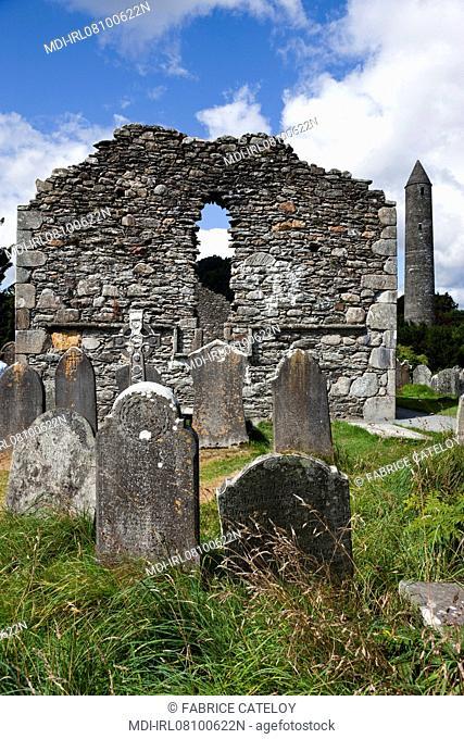 Site monastique - La tour ronde