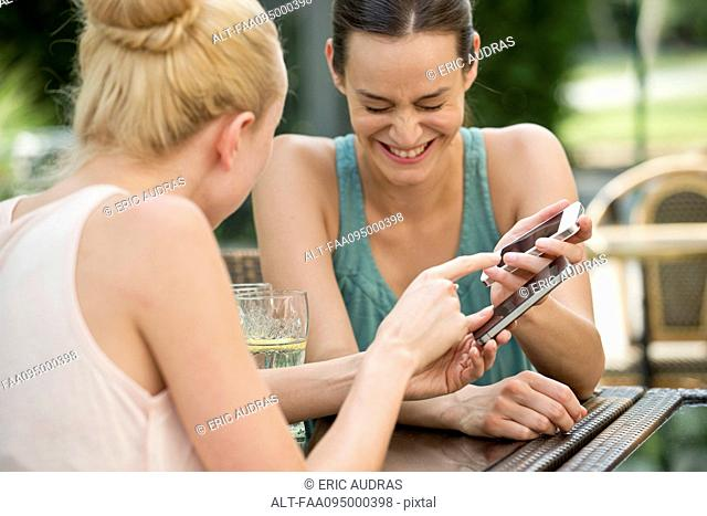 Friends share laugh over social media