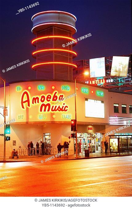 Ameoba Records, LA