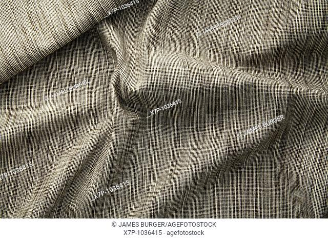 woven brown and white fabric