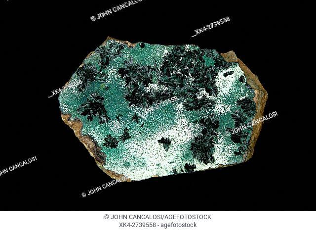 Atacamite, Copiaco, Chile, Important ore mineral of copper